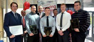 Awards presented at annual Undergraduate Graduation Reception