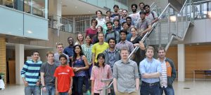Undergraduate students spend their summer immersed in research