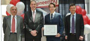 School of Engineering bestows first Dr. Gordon Springate Sr. Award in Engineering