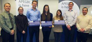 APEGBC Okanagan Branch awards scholarships to SoE students