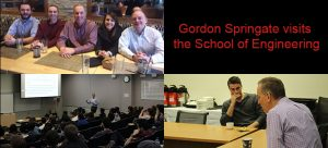 Gordon Springate visits School of Engineering