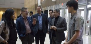 NSERC Visits UBC Okanagan's School of Engineering