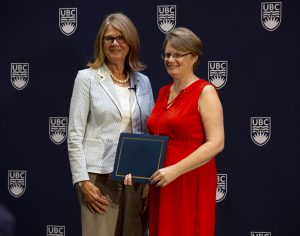 School of Engineering Graduate Studies Administrative Assistant wins Staff Award of Excellence