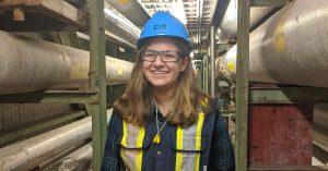 Undergraduate Student Profile – Evangeline Saclamacis (Mechanical)