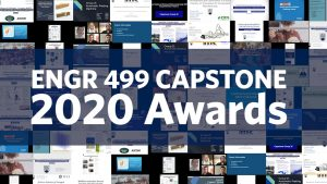 2020 ENGR 499 Capstone Awards Announced