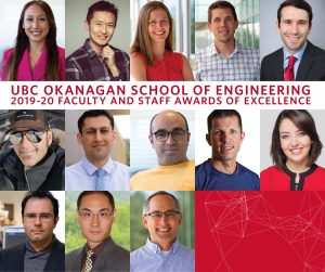 The School of Engineering recognizes staff and faculty excellence